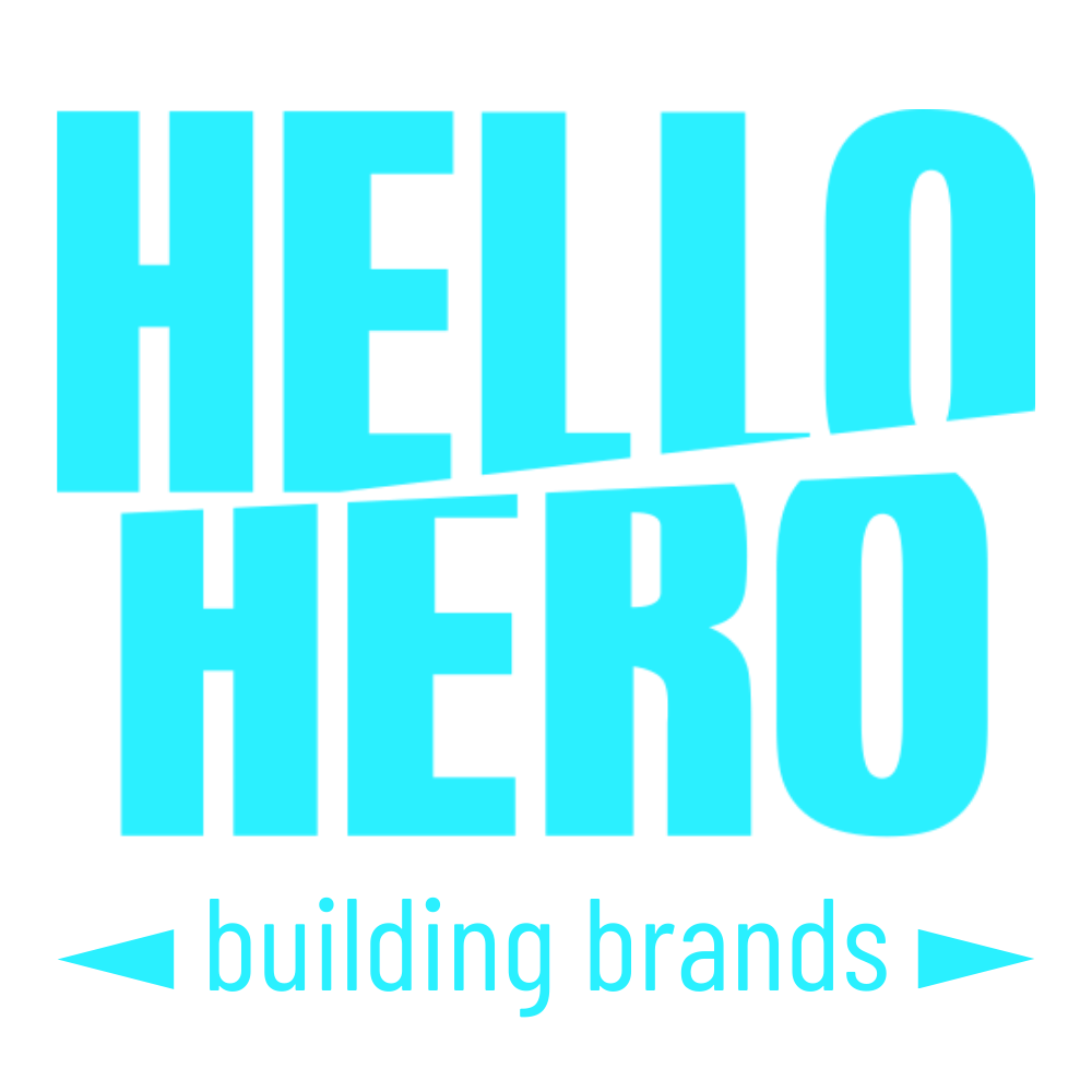 HelloHero Brand Design Logo